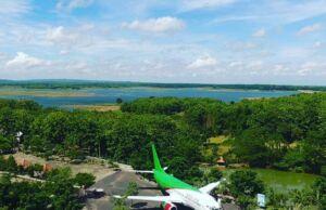 Pesawat Boeing yang Menjadi Icon di Wego Lamongan. Foto: Google Maps) / Zuan Andriyas Channel
