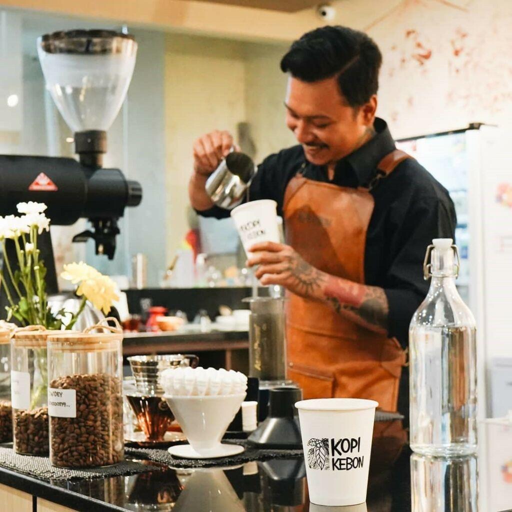 berbagai sajian khas kopi bali