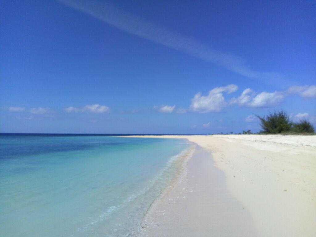 Hamparan Pantai Pasir Putih. Foto: Google Maps / Adeka Rahman
