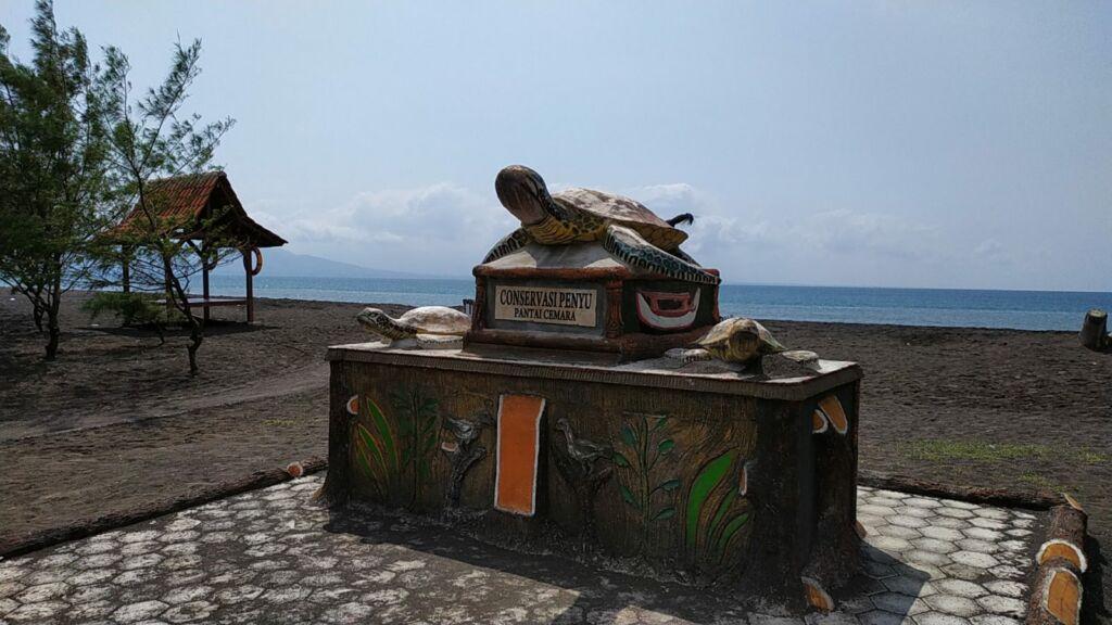 Tugu Konservasi Penyu. Foto: Google Maps / M. Jarwanto