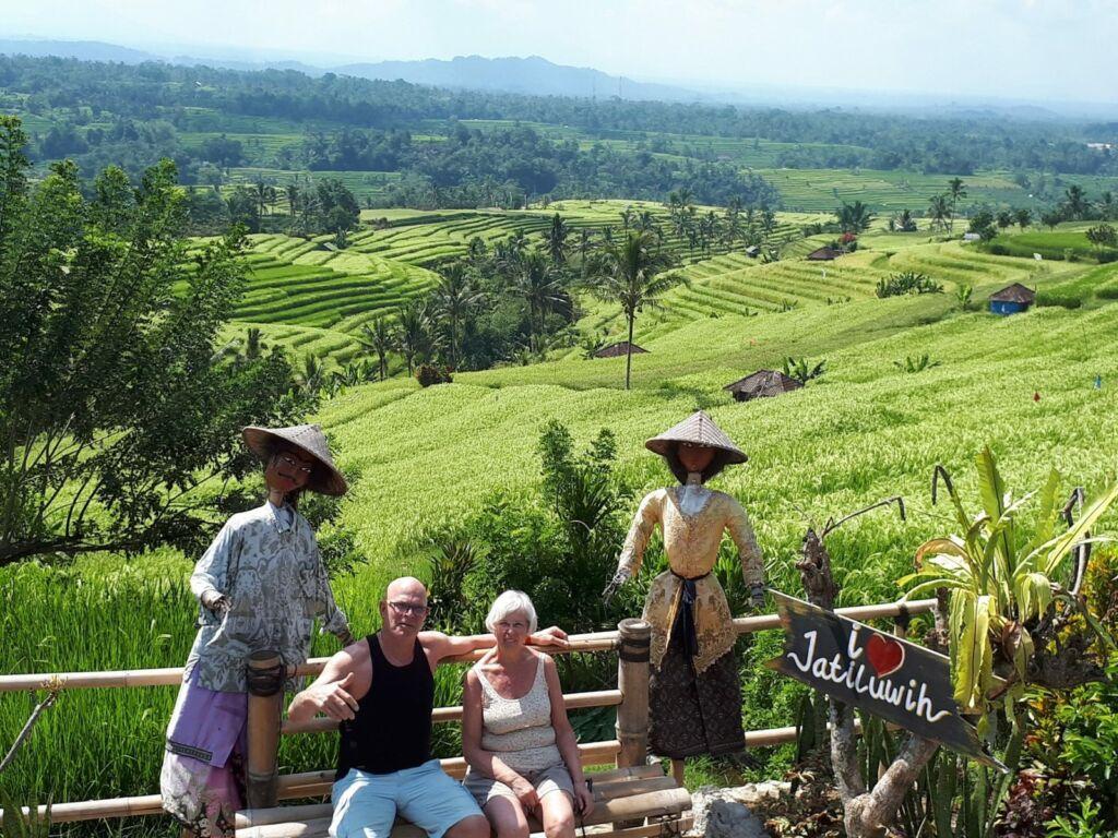 Pemandangan sawah Jatiluwih Rice Terrace