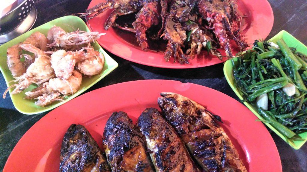 Menu seafood yang bisa dinikmati