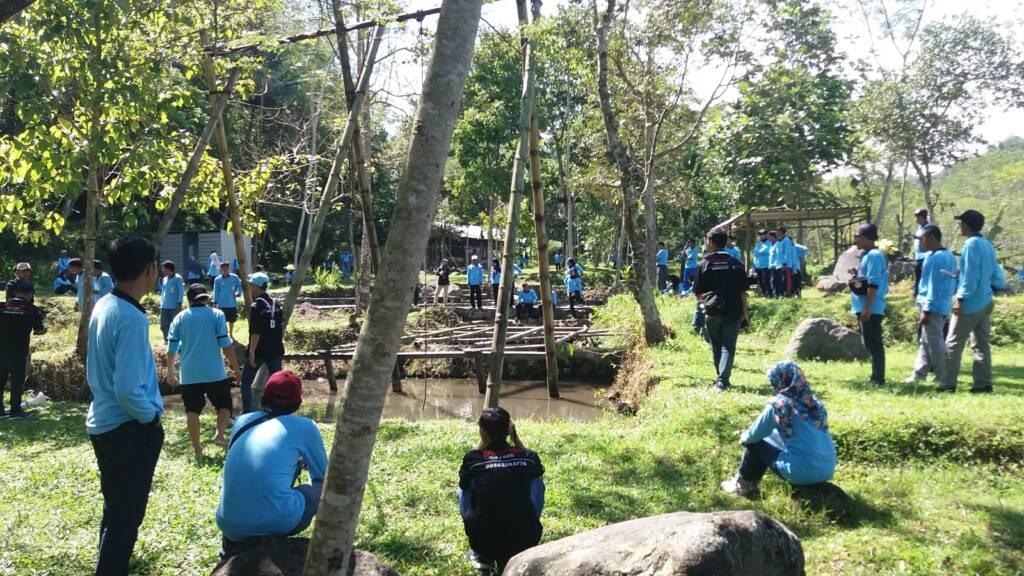 kegiatan outbond di desa ledoksambi
