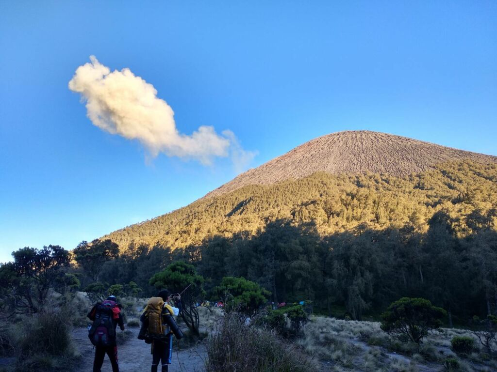 Gagahnya Gunung Semeru di Jawa Timur. Foto: Google Maps / Arya Pradana