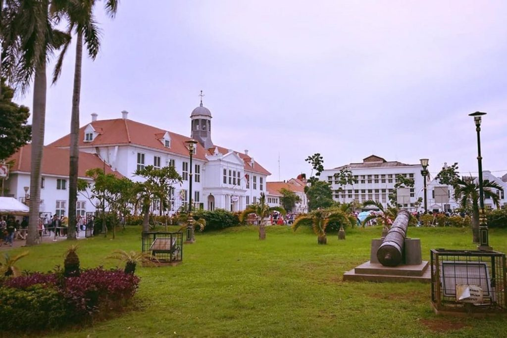 Museum Fatahillah di Wisata Kota Tua Jakarta Barat DKI Jakarta menyimpan koleksi dan rekam jejak kota Jakarta - wisatakotatua