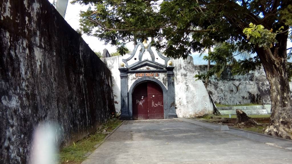 Pintu Masuk Benteng Fort Oranje
