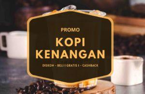 promo kopi kenangan diskon cashback beli 1 gratis 1
