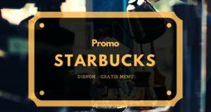 promo starbucks diskon dan gratis menu
