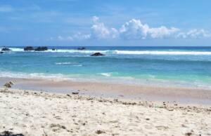 area pasir putih pantai wedi ombo