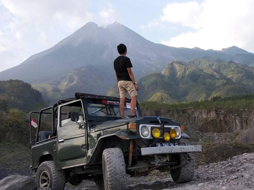Tur jeep Lava Tour Merapi