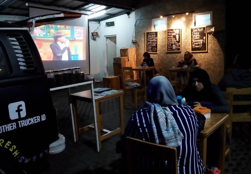 Coffe shop di dalam area House of Shafa Jakarta