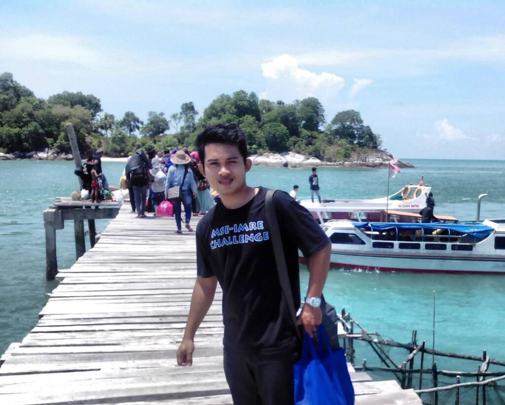Menyeberangi perairan dengan speedboat menuju Pulau Berhala Tanjung Jabung Timur Jambi - Bhima Wibawa