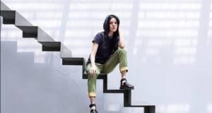 Tangga Melayang menjadi spot foto favorit di Dia Lo Gue Jakarta Selatan DKI Jakarta - alicenorin