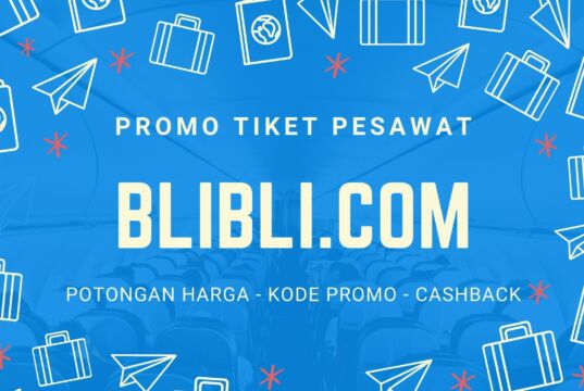 Promo tiket pesawat blibli.com