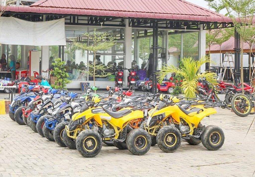 ATV Singapore Land Waterpark Kabupaten Batu Bara Sumatera Utara - singaporelandwaterpark