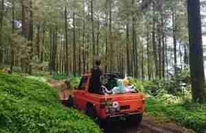 ATV sebagai salah satu Wahana Favorit Pengunjung