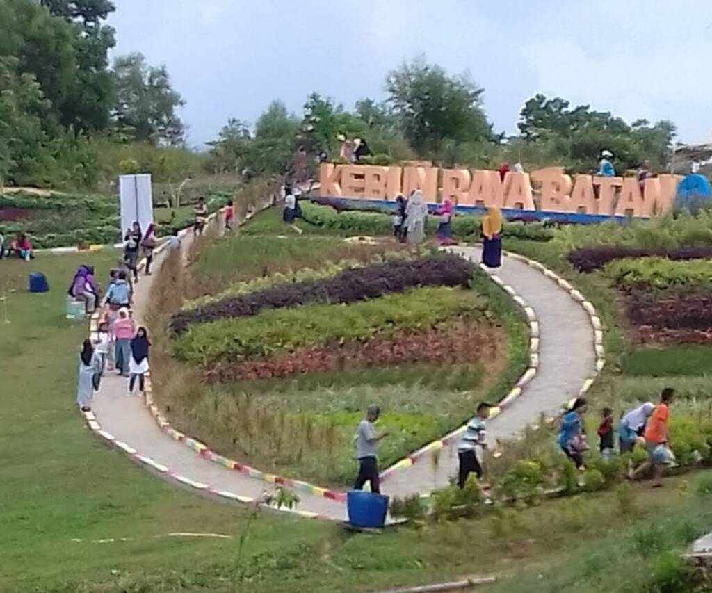 area taman di kebun raya batam