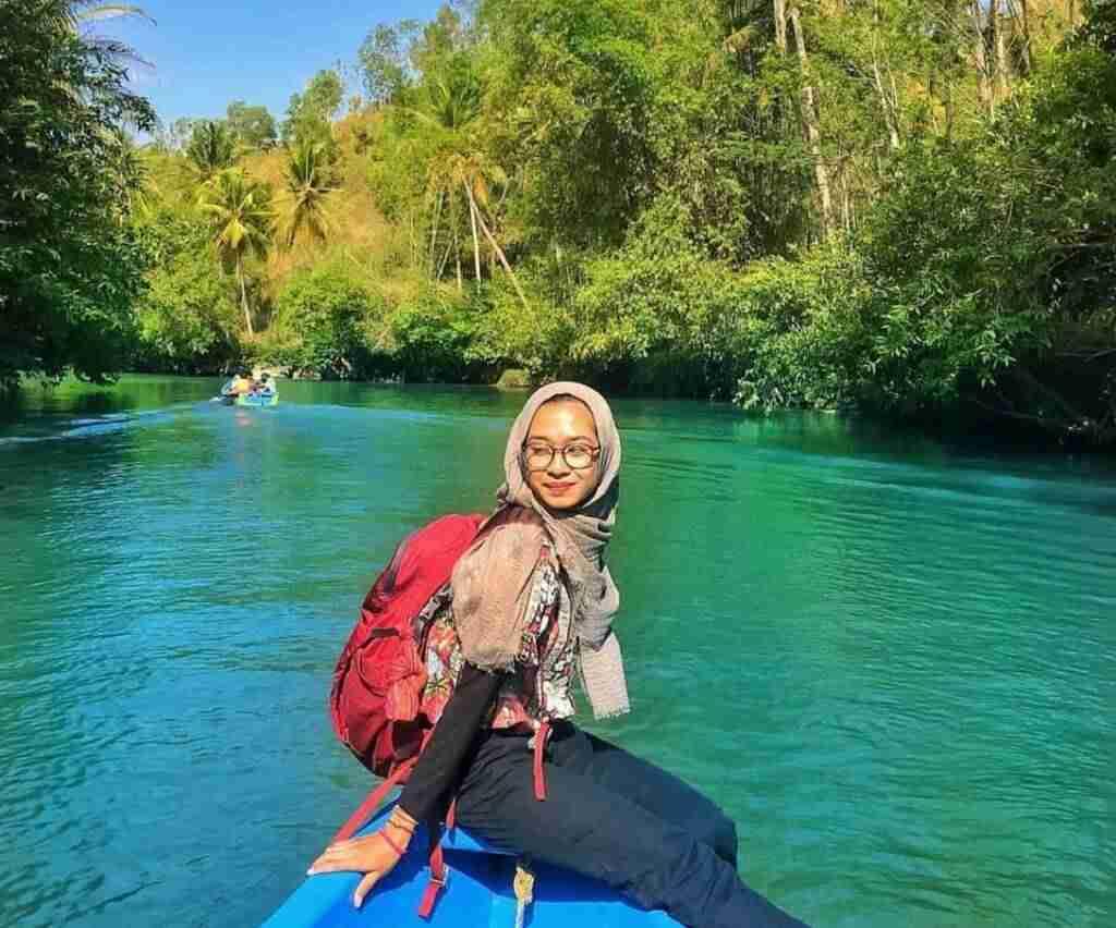 keindahan alam sekitar seperti sungai amazon