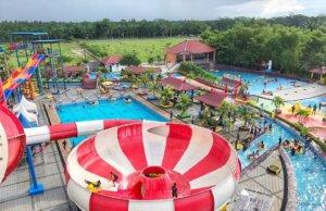 Wahana Super Bowl Singapore Land Waterpark