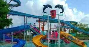 waterpark dan kolam renang di ndayu park