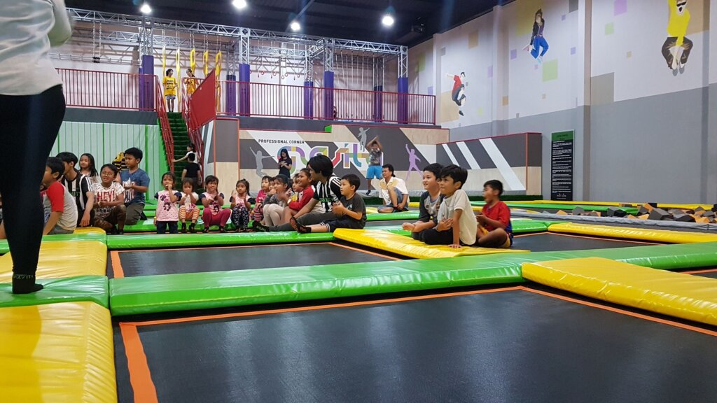 Arena Kids & Freestyle Gravity Trampolin