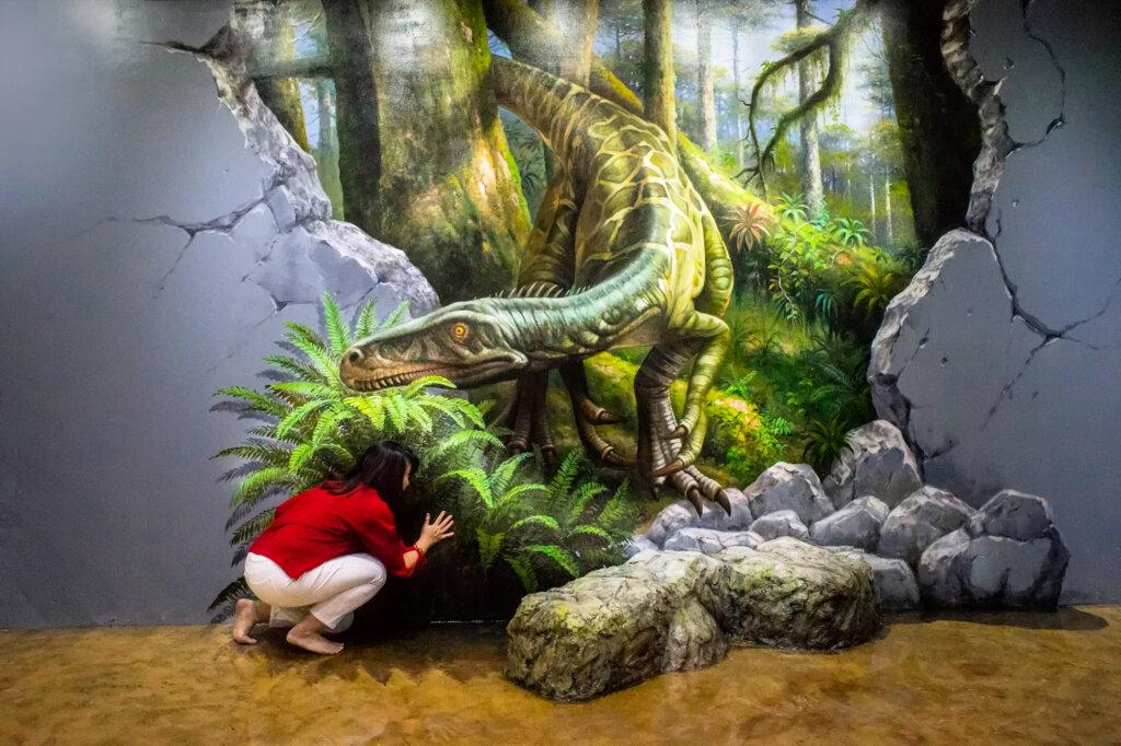 area dinosaurus di dream zone museum