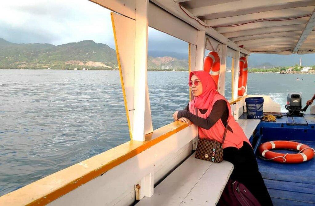 kapal menuju pulau dutungan