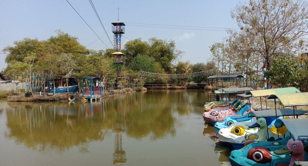 Pemandangan Indah Delta Fishing Sidoarjo