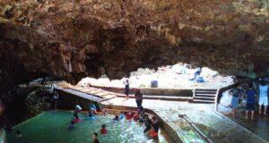 kolam air panas dalam goa ergendang