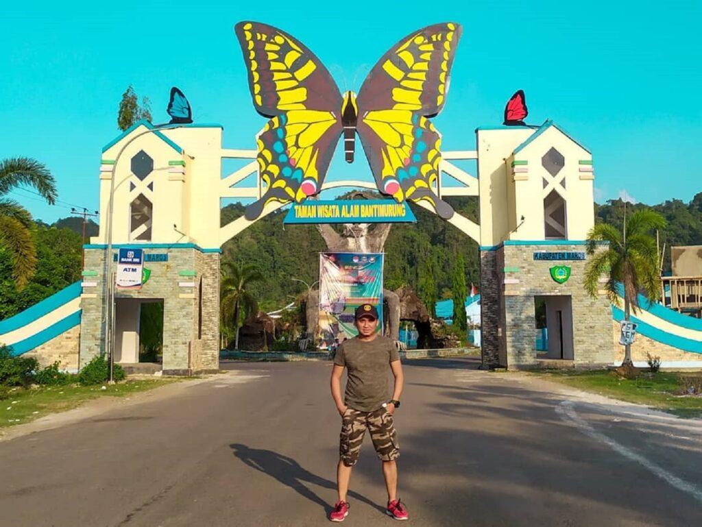 Pintu masuk Taman Nasional Bantimurung Bulusaraung Pangkajene dan Kepulauan Sulawesi Selatan - galih_rizkii