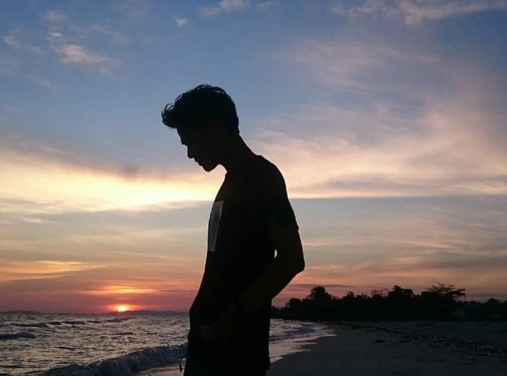 Senja di Pantai Mutiara Buton Sulawesi Tenggara