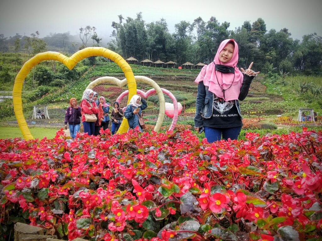 Spot Foto Berbentuk Hati