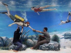Spot Foto Underwater di DMZ