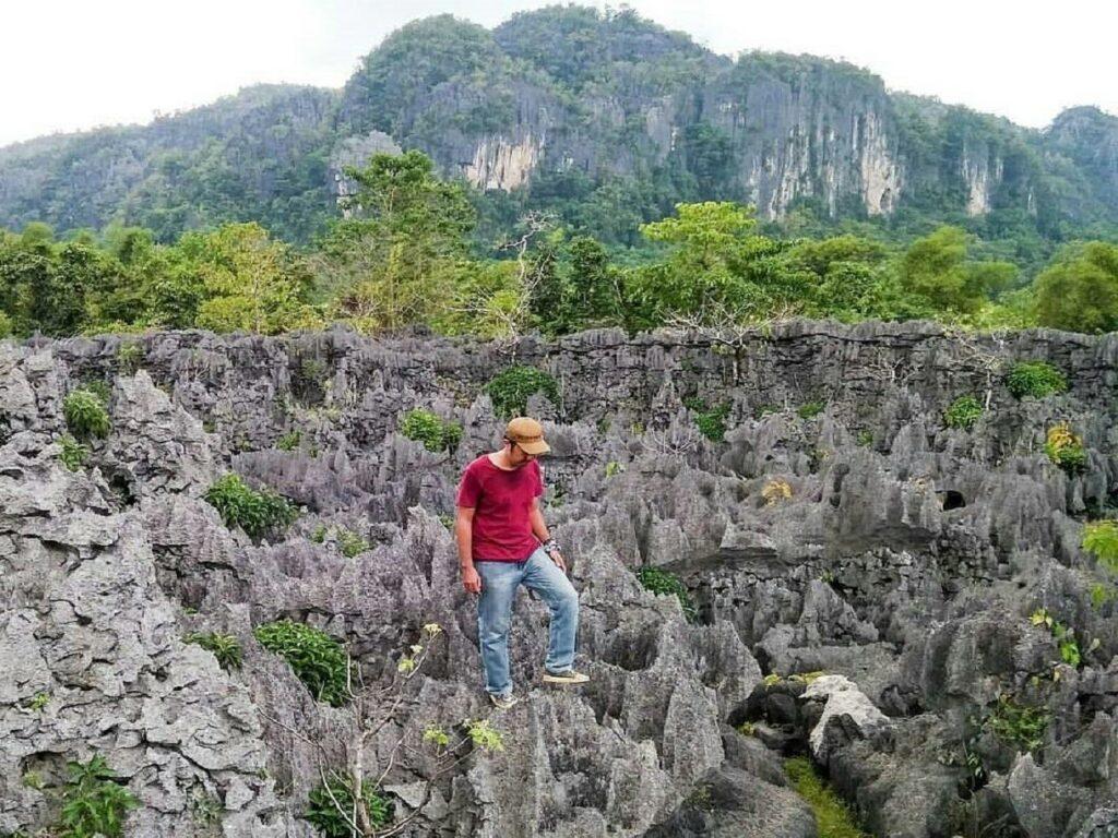 Tebing Taman Batu Karst