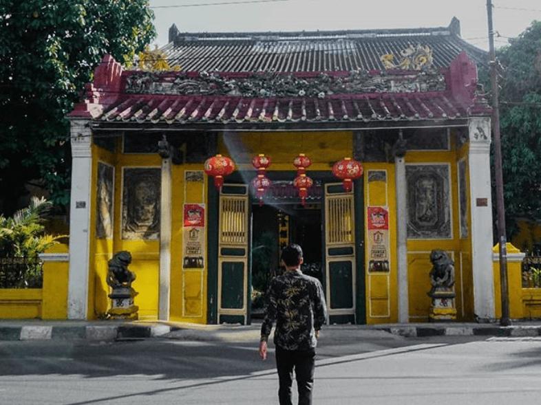 Tampak Depan Tjong A Fie Mansion