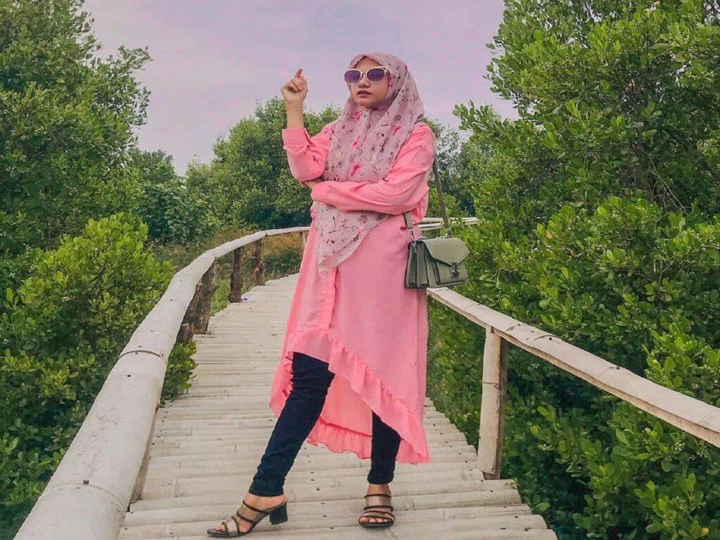 Mangrove track Wisata Alam Datuk Batubara Sumatera Utara - fitriiutari