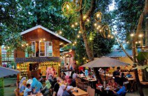 Mencicipi sajian kuliner khas di Taman Selfie Binjai Sumatera Utara - tamanselfie