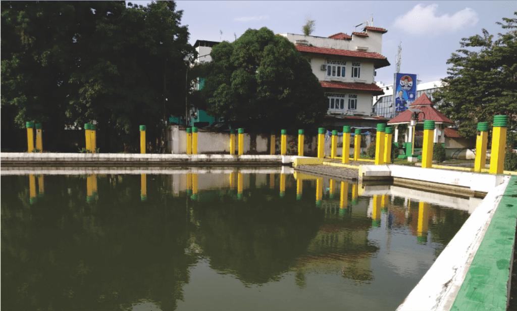 Potret Kolam Taman Sri Deli