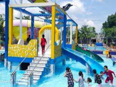 Taman rekreasi air di Dogi Park Waterboom Batu Bara Sumatera Utara - dogipark_waterboomindrapura