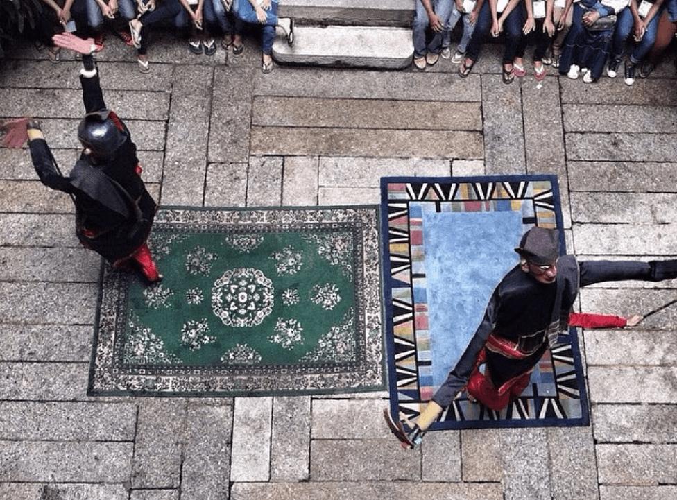 Pertunjukan budaya tari Sigale-Gale