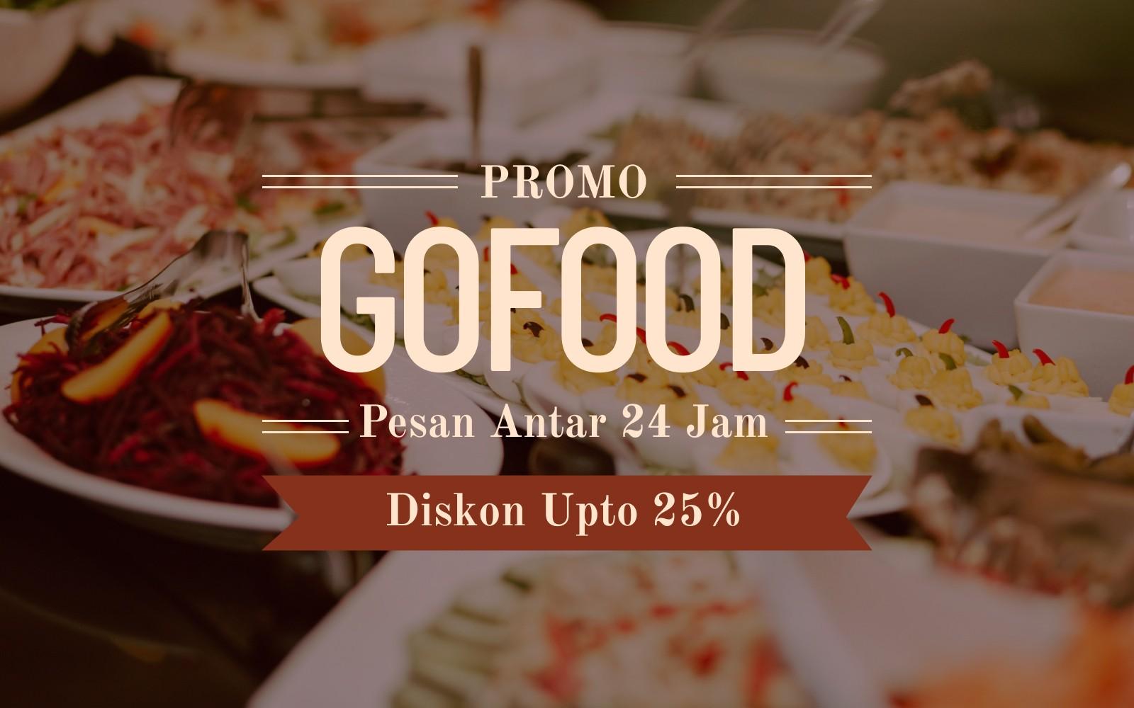 Promo Gofood Diskon Hingga 25 Travelspromo