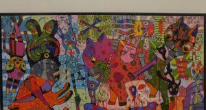Lukisan yang ada di Museum Tumurun