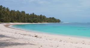 pantai pasir putih pulau siberut