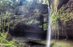 Full View Air Terjun ubuak Bulan
