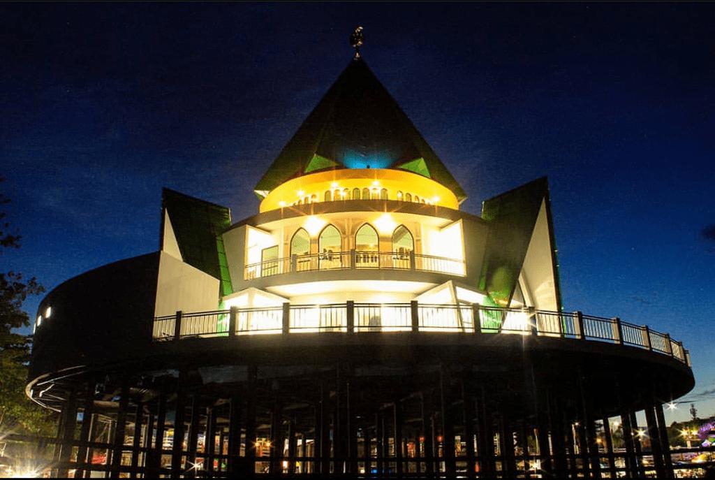 Masjid Darul Amin di Taman Pasuk Kameluh