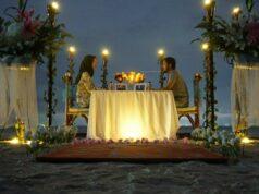 Pantai Romantis kerap dijadikan tempat untuk merayakan anniversary
