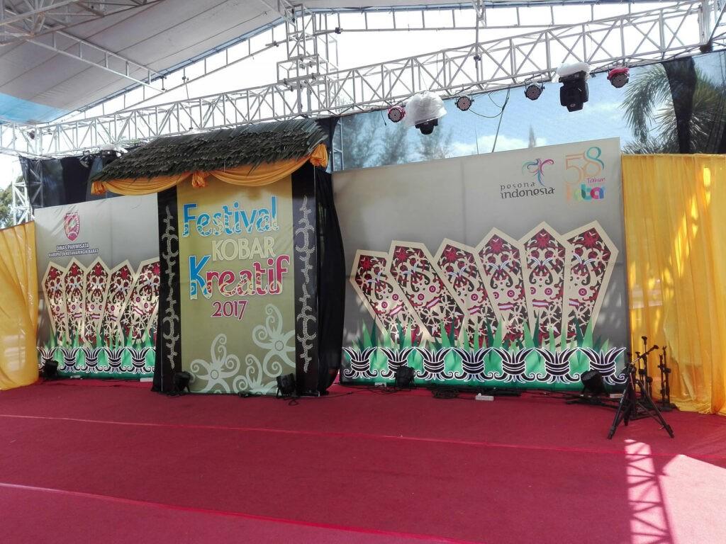 Salah satu festival yang digelar di Pangkalan Bun Park