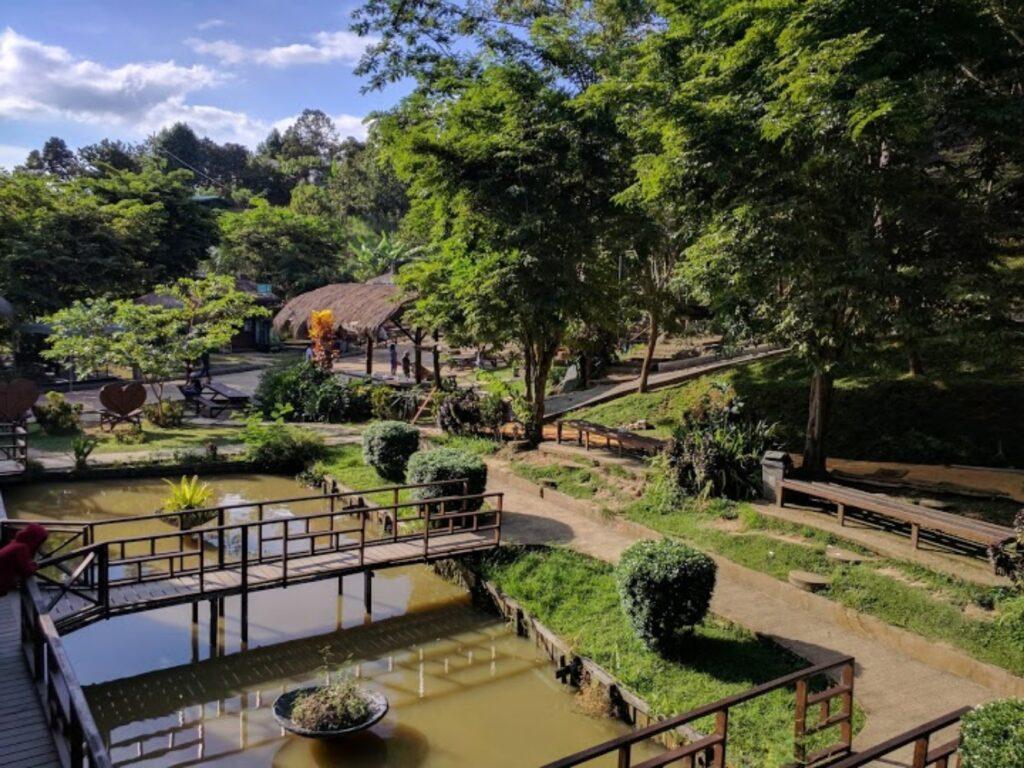 Panorama alam Ladang Budaya