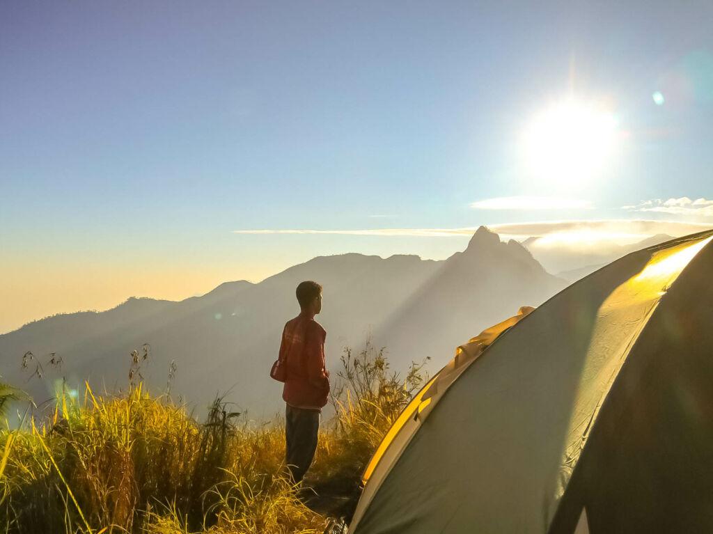 Camping seru di Gunung Anjasmoro