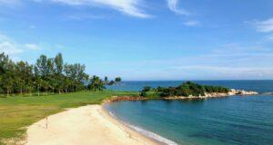 area pantai bintan lagoon resort